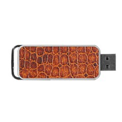 Crocodile Skin Texture Portable Usb Flash (two Sides) by BangZart