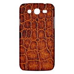 Crocodile Skin Texture Samsung Galaxy Mega 5 8 I9152 Hardshell Case  by BangZart