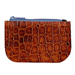 Crocodile Skin Texture Large Coin Purse by BangZart