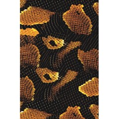 Gold Snake Skin 5 5  X 8 5  Notebooks by BangZart
