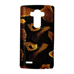 Gold Snake Skin Lg G4 Hardshell Case by BangZart