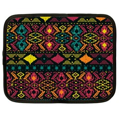 Bohemian Patterns Tribal Netbook Case (large) by BangZart