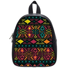 Bohemian Patterns Tribal School Bags (small)  by BangZart
