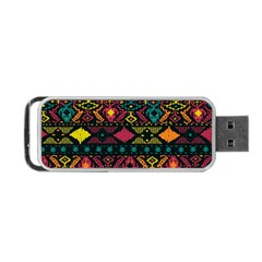 Bohemian Patterns Tribal Portable Usb Flash (two Sides) by BangZart