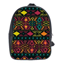 Bohemian Patterns Tribal School Bags (xl)  by BangZart
