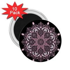Ornate Mandala 2 25  Magnets (10 Pack)  by Valentinaart