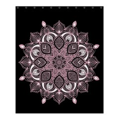 Ornate Mandala Shower Curtain 60  X 72  (medium)  by Valentinaart