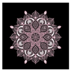Ornate Mandala Large Satin Scarf (square) by Valentinaart