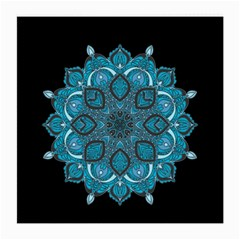 Ornate Mandala Medium Glasses Cloth by Valentinaart