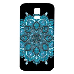 Ornate Mandala Samsung Galaxy S5 Back Case (white) by Valentinaart