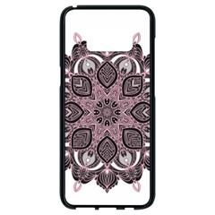 Ornate Mandala Samsung Galaxy S8 Black Seamless Case