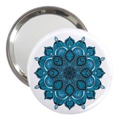 Ornate Mandala 3  Handbag Mirrors by Valentinaart