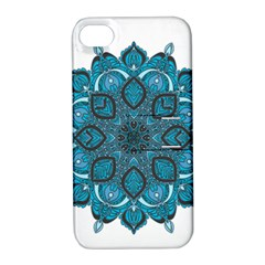 Ornate Mandala Apple Iphone 4/4s Hardshell Case With Stand by Valentinaart