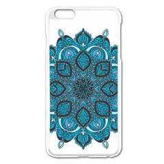 Ornate Mandala Apple Iphone 6 Plus/6s Plus Enamel White Case by Valentinaart