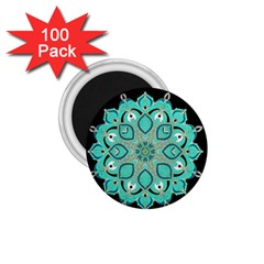 Ornate Mandala 1 75  Magnets (100 Pack)  by Valentinaart