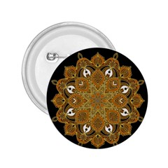 Ornate Mandala 2 25  Buttons by Valentinaart