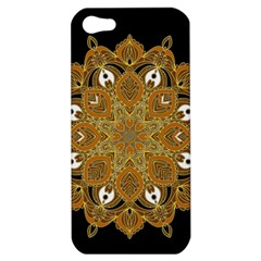 Ornate Mandala Apple Iphone 5 Hardshell Case by Valentinaart