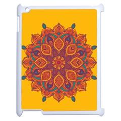 Ornate Mandala Apple Ipad 2 Case (white) by Valentinaart