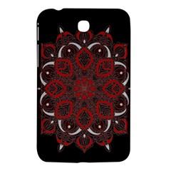Ornate Mandala Samsung Galaxy Tab 3 (7 ) P3200 Hardshell Case  by Valentinaart