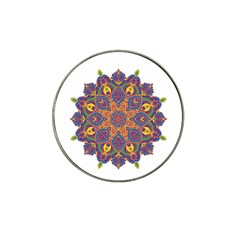 Ornate Mandala Hat Clip Ball Marker (10 Pack) by Valentinaart