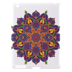 Ornate Mandala Apple Ipad 3/4 Hardshell Case (compatible With Smart Cover) by Valentinaart
