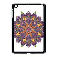 Ornate Mandala Apple Ipad Mini Case (black) by Valentinaart