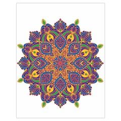 Ornate Mandala Drawstring Bag (large) by Valentinaart