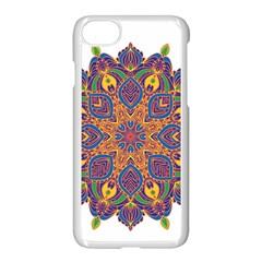 Ornate Mandala Apple Iphone 7 Seamless Case (white) by Valentinaart