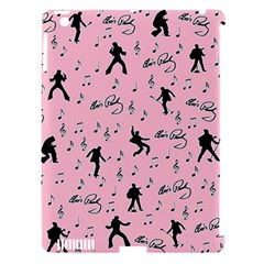 Elvis Presley  Pink Pattern Apple Ipad 3/4 Hardshell Case (compatible With Smart Cover) by Valentinaart
