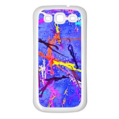 Paint Splashes                 Samsung Galaxy S7710 Xcover 2 Hardshell Case by LalyLauraFLM