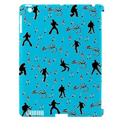 Elvis Presley  Pattern Apple Ipad 3/4 Hardshell Case (compatible With Smart Cover) by Valentinaart