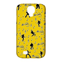 Elvis Presley  Pattern Samsung Galaxy S4 Classic Hardshell Case (pc+silicone) by Valentinaart