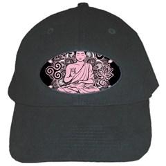 Ornate Buddha Black Cap by Valentinaart