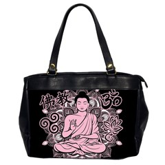 Ornate Buddha Office Handbags (2 Sides)  by Valentinaart