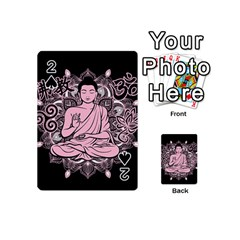 Ornate Buddha Playing Cards 54 (mini)  by Valentinaart