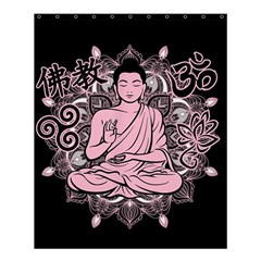 Ornate Buddha Shower Curtain 60  X 72  (medium)  by Valentinaart