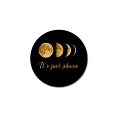 Moon Phases  Golf Ball Marker (4 Pack) by Valentinaart