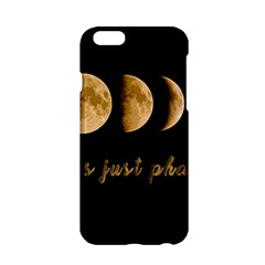 Moon Phases  Apple Iphone 6/6s Hardshell Case by Valentinaart