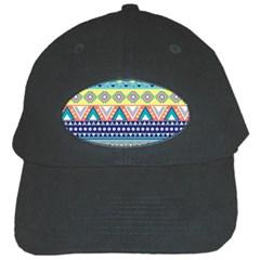 Tribal Print Black Cap by BangZart