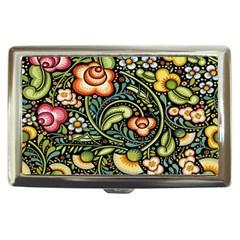 Bohemia Floral Pattern Cigarette Money Cases by BangZart