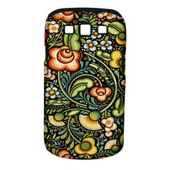 Bohemia Floral Pattern Samsung Galaxy S Iii Classic Hardshell Case (pc+silicone) by BangZart