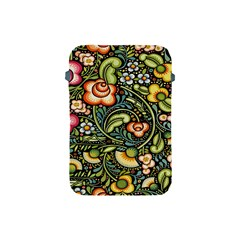 Bohemia Floral Pattern Apple Ipad Mini Protective Soft Cases by BangZart