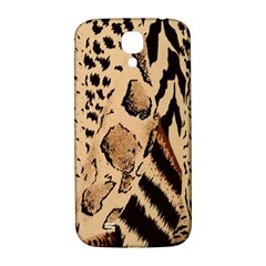 Animal Fabric Patterns Samsung Galaxy S4 I9500/i9505  Hardshell Back Case by BangZart