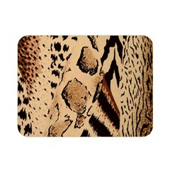Animal Fabric Patterns Double Sided Flano Blanket (mini)  by BangZart