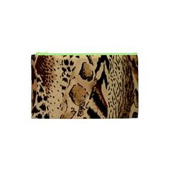 Animal Fabric Patterns Cosmetic Bag (xs) by BangZart
