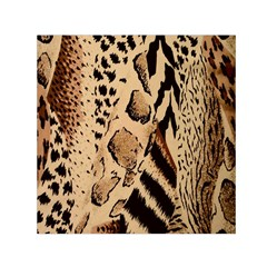 Animal Fabric Patterns Small Satin Scarf (square) by BangZart