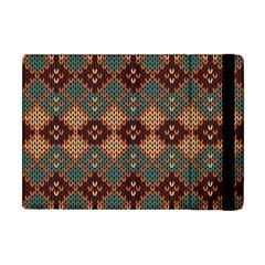 Knitted Pattern Apple Ipad Mini Flip Case by BangZart