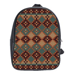 Knitted Pattern School Bags (xl)  by BangZart