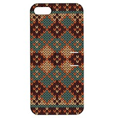 Knitted Pattern Apple Iphone 5 Hardshell Case With Stand by BangZart
