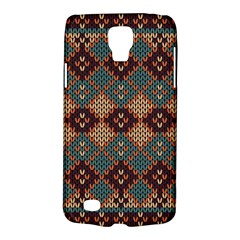 Knitted Pattern Galaxy S4 Active by BangZart